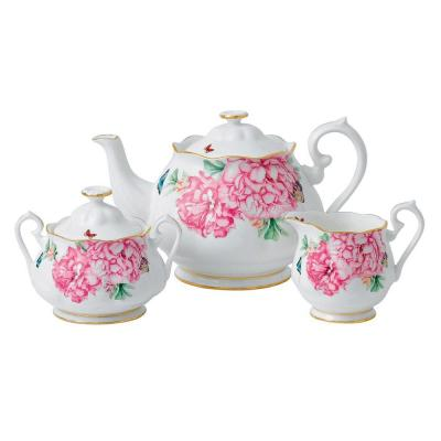 Royal Albert Miranda Kerr Friendship Teapot, Cream, Sugar