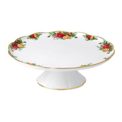 Royal Albert Old Country Roses Gorgeous Gifts Large Cake Stand