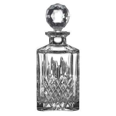 Royal Doulton Highclere Premium Crystal Square Spirit Decanter