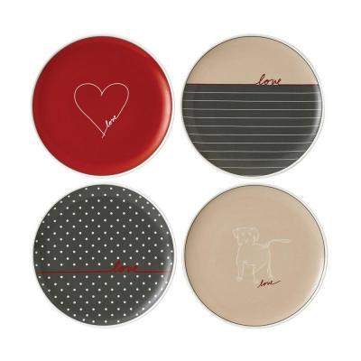 Royal Doulton ED Ellen DeGeneres collection - Plate 21cm Signature Set of 4