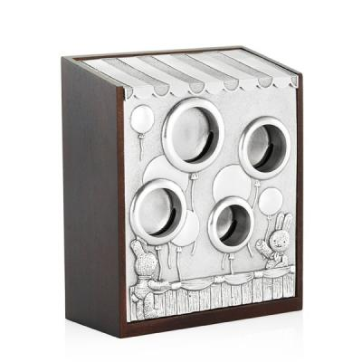 Royal Selangor Bunnies Day Out Balloon Coin Box