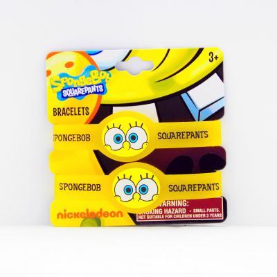 Spongebob Squarepants Wristbands Rubber bracelets New Licensed
