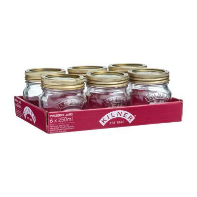 Kilner 250ML Preserve Jar Set Of 6