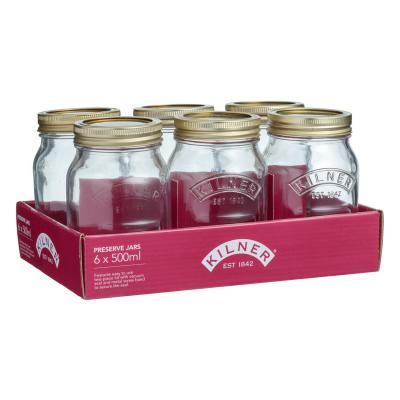 Kilner 500ML Preserve Jar Set Of 6