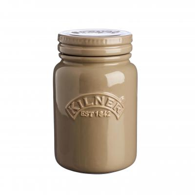 Kilner Ceramic Jar 600ml Pebble Grey
