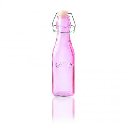 Kilner Clip Top Bottle 250ml Pink