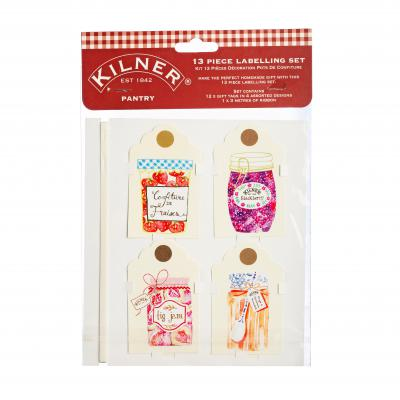 Kilner Pantry 13 Piece Tag Set