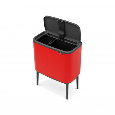 Brabantia Bo Touch Bin 11/23L | Passion Red