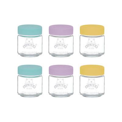 Kilner Kids Jar Set Of 6 - 110ml