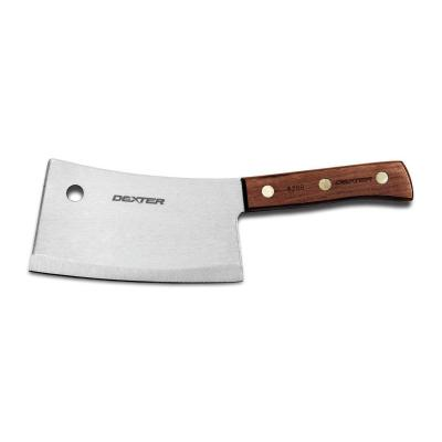 """Dexter Russell Traditional 9"""" Stainless Heavy Duty Cleaver Knife 08240 S5289"""