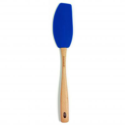 CHASSEUR Silicone Curved Spatula - Blue