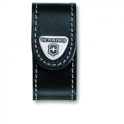 Victorinox SAK Black Leather Pouch for Mini Champ