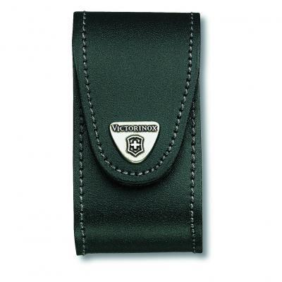 Victorinox SAK Black Leather Pouch 5-8 Layers