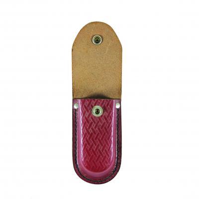 Victorinox Burgundy Leather Pouch 4.0527