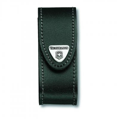 Victorinox SAK Black Leather Pouch 2-4 Layers