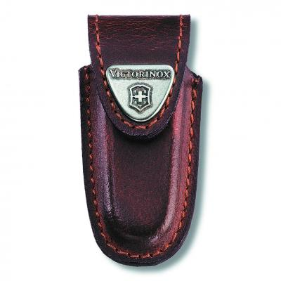 Victorinox Brown Leather Pouch to suit Classic Knives