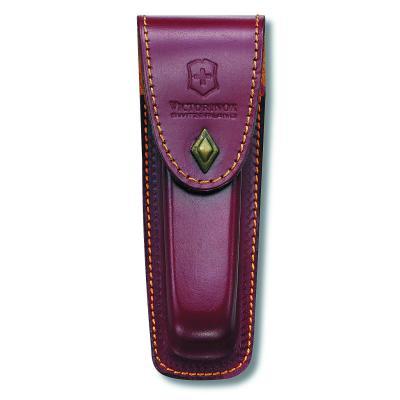 Victorinox SAK Brown Leather Pouch for LockBlades 2-3 Layer