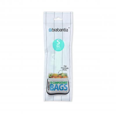 Brabantia PerfectFir Bags S Roll Compostable 6L | Green