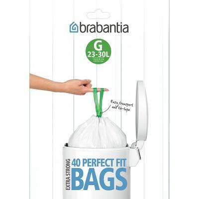 Brabantia Dispenser Pack 20-30 Liter 40 Bags