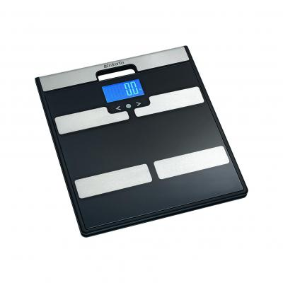 Brabantia Bathroom Scales Body Analysis | Black