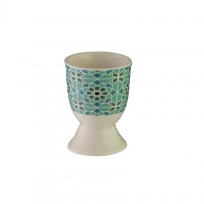 Avanti Egg Cup - Arabesque Tile Teal