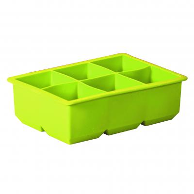 Avanti Silicone 6 Cup King Ice Cube Tray Green