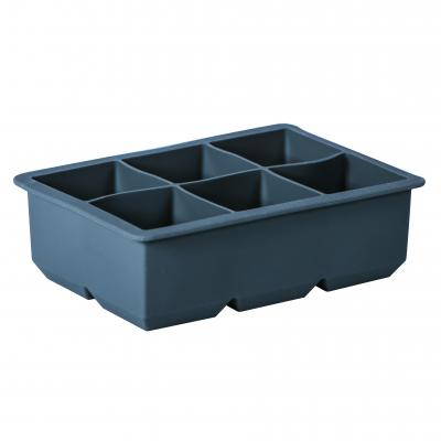 Avanti Silicone 6 Cup King Ice Cube Tray Charcoal