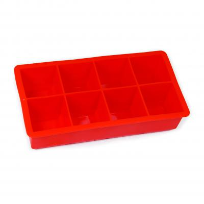 Avanti Silicone 8 Cup Ice Cube Tray Red