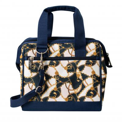 Avanti Insulated Lunch Bag | Baroque Navy/Pink
