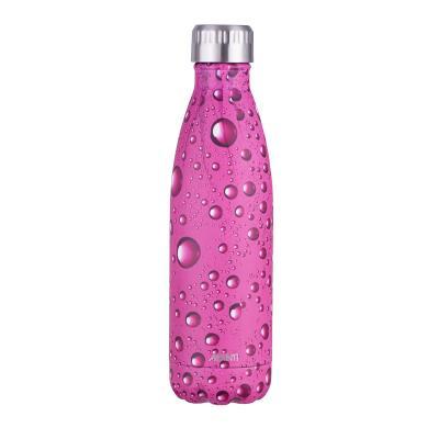 Avanti Fluid Twin Wall Vacuum Bottle 500ml - Bubbies Pink