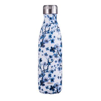 Avanti Fluid Twin Wall Vacuum Bottle 500ml - Blossom Blue