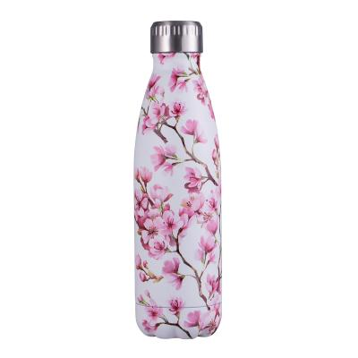 Avanti Fluid Twin Wall Vacuum Bottle 500ml - Blossom Pink