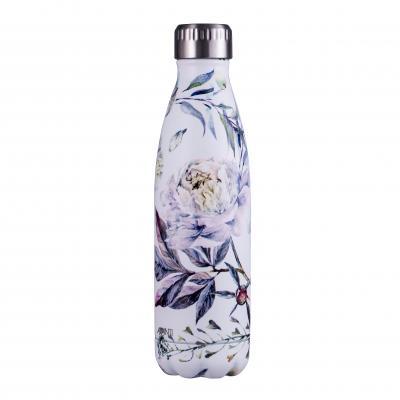 Avanti Fluid Twin Wall Vacuum Bottle 500ml - Bloom White
