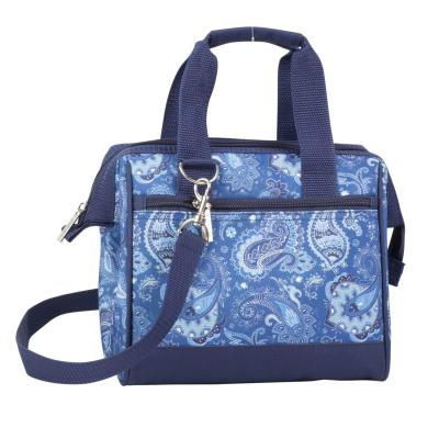 Avanti Insulated Lunch Bag | Paisley