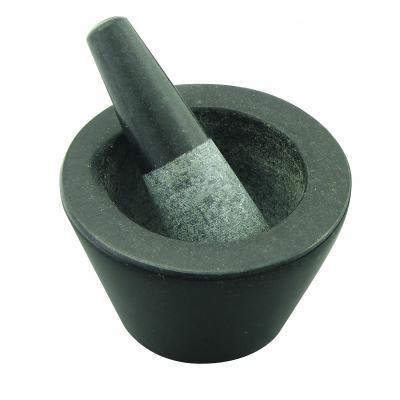 AVANTI Mortar and Pestle   13cm  Mini Conical Black