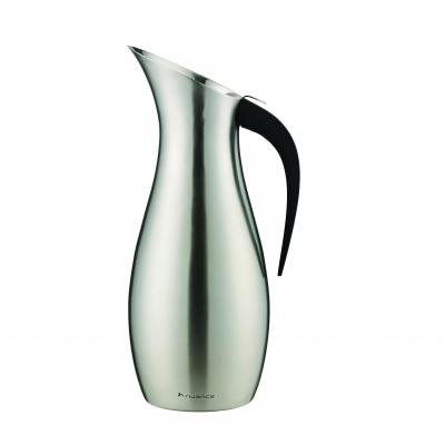 Nuance Penguin Water Pitcher - Brush Stainless Steel