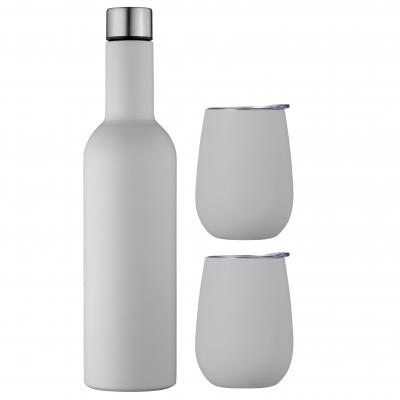 Avanti Wine Beverages Traveller Set | Dove Grey