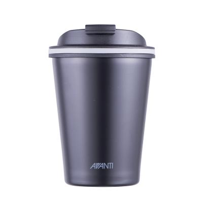 Avanti Go Cup Double Wall Stainless Steel Travel Cup 280ml - Black