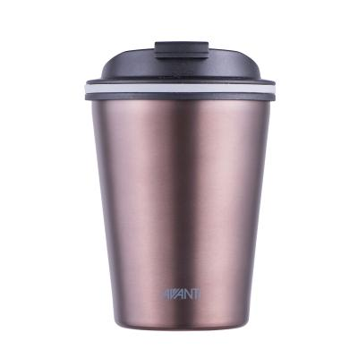 Avanti Go Cup Double Wall Stainless Steel Travel Cup 280ml - Rose