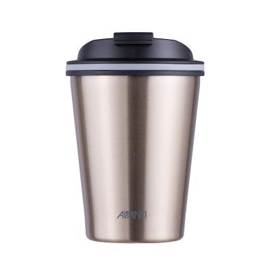 Avanti Go Cup Double Wall Stainless Steel Travel Cup 280ml - Champagne