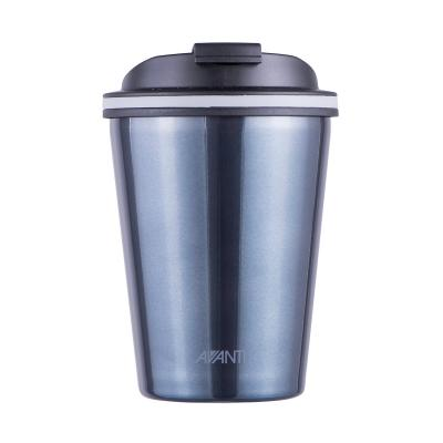 Avanti Go Cup Double Wall Stainless Steel Travel Cup 280ml - Steel Blue