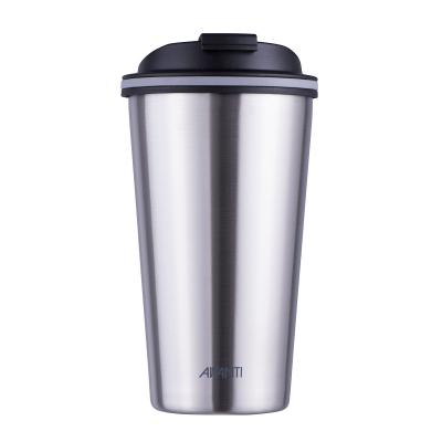 Avanti Go Cup Brushed Stainless Steel 410ml