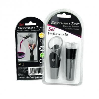 Vin Bouquet Pourer & Vacuum Stopper Set