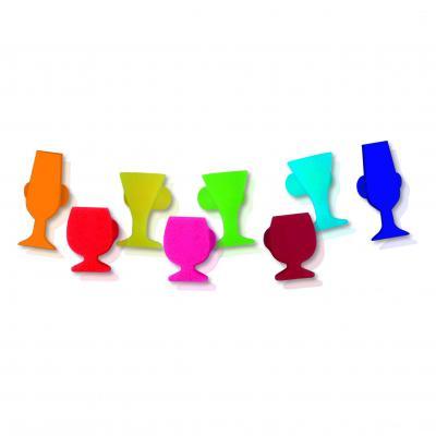 Vin Bouquet VB Wine Glass Marker Set of 8