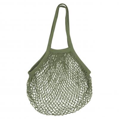 Karlstert Ecobags String bag Natural Cotton Long   Olive