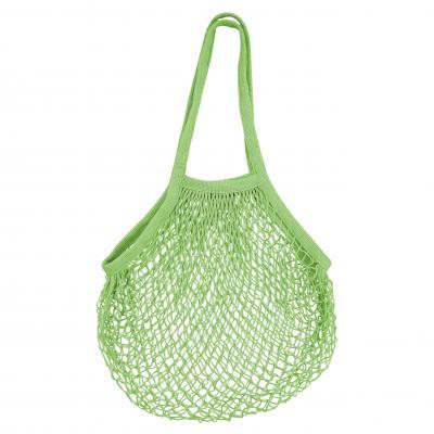 Karlstert Ecobags String bag Natural Cotton Long   Lime
