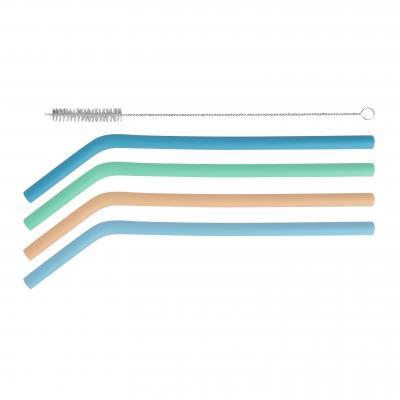 Avanti Silicone Straws Set Of 4