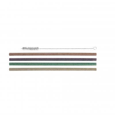 Avanti Reusable Straws Glitter Set Of 12