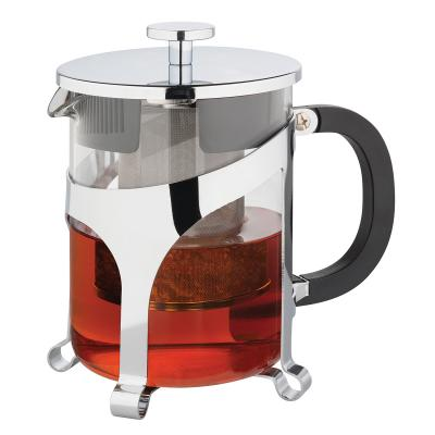 Avanti Contempo Tea Press 6 Cups 1 Litre Tea Pot Glass Chrome
