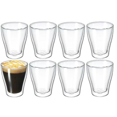 Avanti Modena 250ml Twin Wall Glass  8 pcs Set